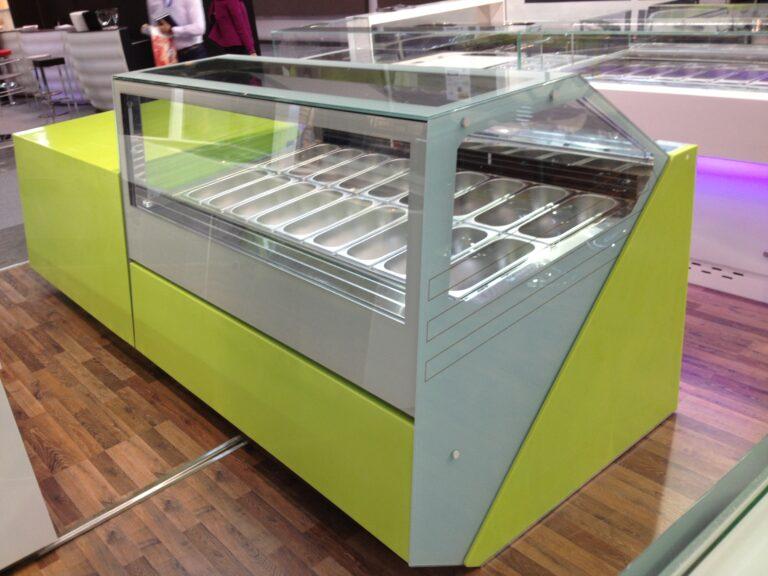 dondurma vitrini art yeşil